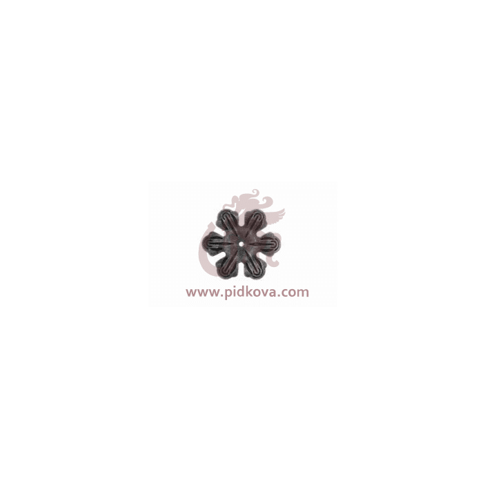 Кованый цветок 15.758