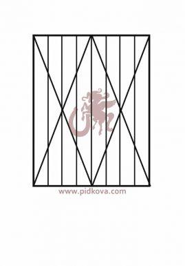 Решетки на окна r-20
