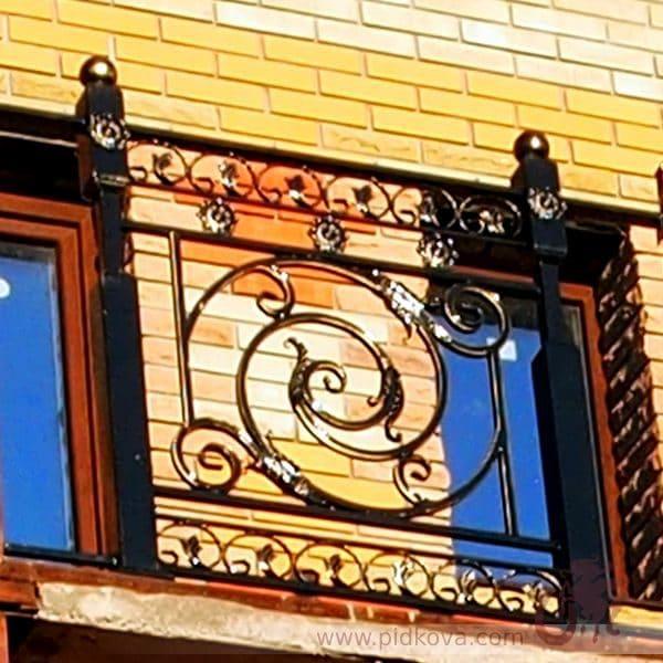кованые балконные ограждения б-54