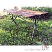 кованый стол бамбук купить